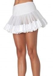 Leg Avenue Damen Petticoat mit Satinabschluss Farbwahl