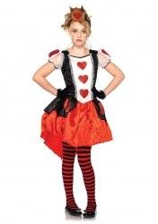 Leg Avenue Karneval Mädchen Kostüm Königin Wonderland