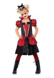Karneval Halloween  Mädchen Kostüm Vampire Queen