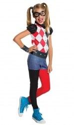 DC Super Hero Mädchenkostüm Harley Quinn