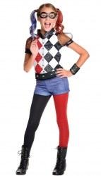 DC Super Hero Mädchenkostüm Harley Quinn Deluxe