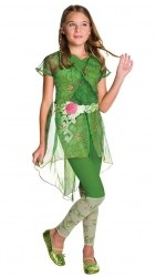 DC Super Hero Karneval Mädchen Kostüm Poison Ivy Deluxe
