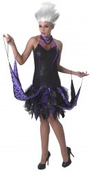 DISNEY Arielle Karneval Damen Kostüm Krake Ursula