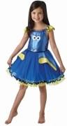DISNEY Karneval Mädchen Kostüm Dory Deluxe
