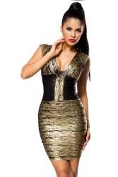 Damen Partykleid Bandage Shape Kleid Trendy