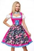 Dirndline Oktoberfest Dirndl mit Blumenschürze