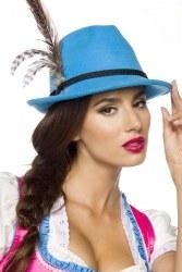 Dirndline Oktoberfest Traditioneller Damen-Trachtenhut Farbwahl