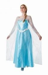 Disney Frozen Karneval Damen Kostüm Elsa
