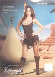 Dreamgirl Karneval Damen Kostüm Indianerin Pocahottie