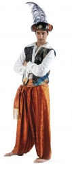 LIMIT SPORT Herren Kostüm Orientale Aladin Tuareg