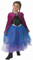 Karneval Kinder Mädchen Kostüm Anna Premium