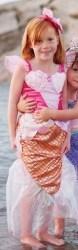 Great Pretenders Karneval  Mädchen Kostüm Nixe pink