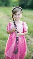 Great Pretenders Kinder Haarreif Rapunzel-Zopf braun