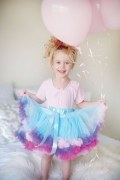 Great Pretenders Kinder Mädchen Petticoat Rock blau