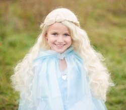 Great Pretenders Kinder Perücke Prinzessin blond