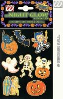 Halloween Dekoration nachtleuchtende Sticker
