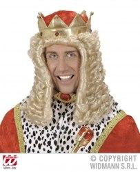 Karneval Herren Perücke KÖNIG