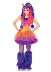 Leg Avenue Karneval Tween Mädchen Kostüm Monster Frankie