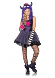 Leg Avenue Tween Mädchen Kostüm Punky Monster