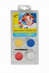 Jofrika Karneval Aqua Kinder Schmink Set Clown