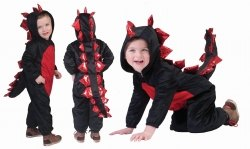 Karneval Baby Kostüm Drache Dark Dragon