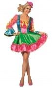 Karneval Damen Kostüm Clown Deluxe