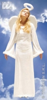 Karneval Damen Kostüm Samt Engel