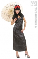 Karneval Damen Kostüm Geisha BLACK CHINA GIRL