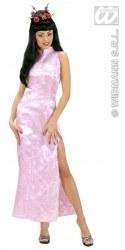Karneval Damen Kostüm Geisha Pink China Girl
