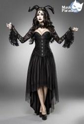 Karneval Halloween Damen Kostüm Gothic Dämon