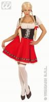 Karneval Damen Kostüm Dirndl HEIDI