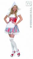 Widmann Karneval Damenkostüm Holland Girl