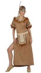 Karneval Damen Kostüm Indianerin