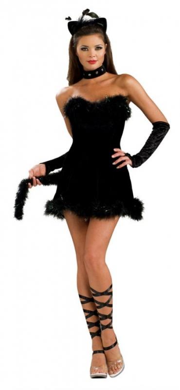 karneval damen kost m katze kissable kitty faschingskram. Black Bedroom Furniture Sets. Home Design Ideas
