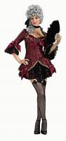 Karneval Halloween Damen Kostüm GOTHIC MARIE ANTOINETTE