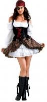Karneval Damen Kostüm Piratin BUCCANEER BABE