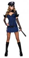 Karneval Damen Kostüm Polizistin NIGHT WATCH