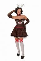 Karneval Damen Kostüm  RENTIER