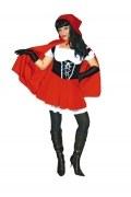 Karneval Damen Kostüm Rotkäppchen Red Riding Hood