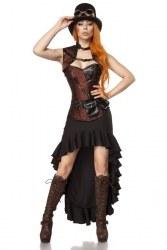 Karneval Damen Kostüm Steampunk Lady