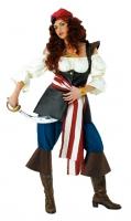 Karneval Damen Kostüm Südseepiratin
