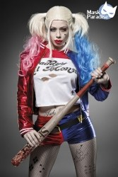 Karneval Damen Kostüm Suicide Harley