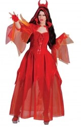 Karneval Damen Kostüm Teufelin Kira