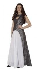 Karneval Damenkostüm Brokat-Kleid