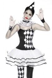 Karneval Damen Kostüm Harlekin