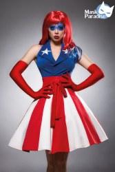 Karneval Damen Kostüm Miss America