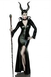 Karneval Halloween Damen Kostüm Mistress of Evil