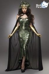Karneval Damen Kostüm Mystic Medusa