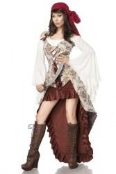 Karneval Damen Kostüm Piraten Braut