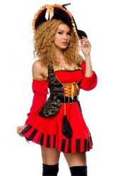 Karneval Damenkostüm Piratin Esme